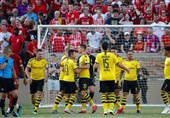فوتبال جهان| پیروزی بوروسیا دورتموند مقابل لیورپول در یک بازی دوستانه