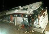 واژگونی اتوبوس در محور سبزوار ـ نیشابور / 15 مسافر مصدوم شد
