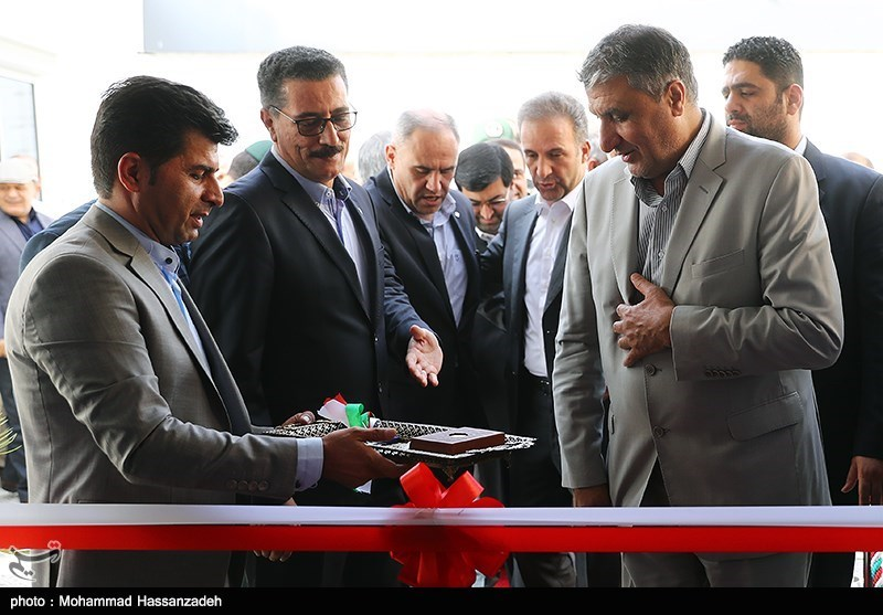 افتتاح مرکز عملیات ایمنی و اضطراری فرودگاهها توسط محمد اسلامی وزیر راه و شهرسازی