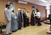 مسئول جدید بسیج دانشجویی دانشگاه فردوسی مشهد معارفه شد