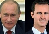 بوتین یهنئ الأسد بإعادة انتخابه رئیساً لسوریا