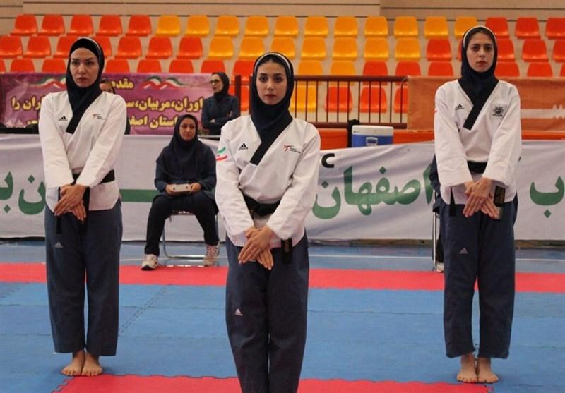 مسابقات پومسه بانوان کشور؛ اصفهان برای سومین سال متوالی قهرمان شد