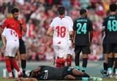 فوتبال جهان| شکست لیورپول مقابل سویا در یک بازی دوستانه
