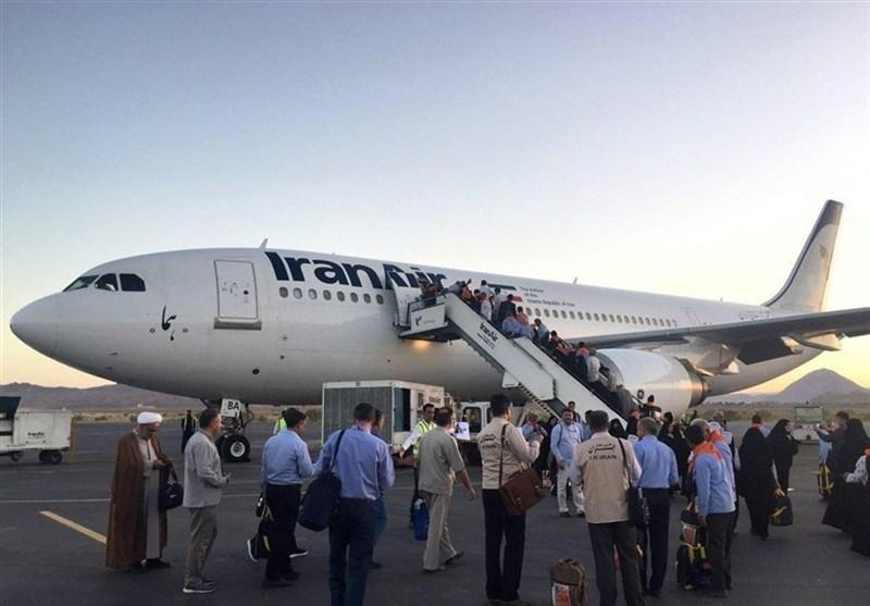 نخستین گروه زائران استان بوشهر به سرزمین وحی اعزام شدند