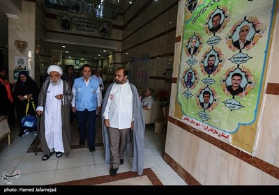 محافل انس و معرفت موسم حج98 با حضور زائران ایرانی در مدینه منوره