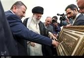 هدیه هیئت بلندپایه حماس به رهبر معظم انقلاب+ عکس