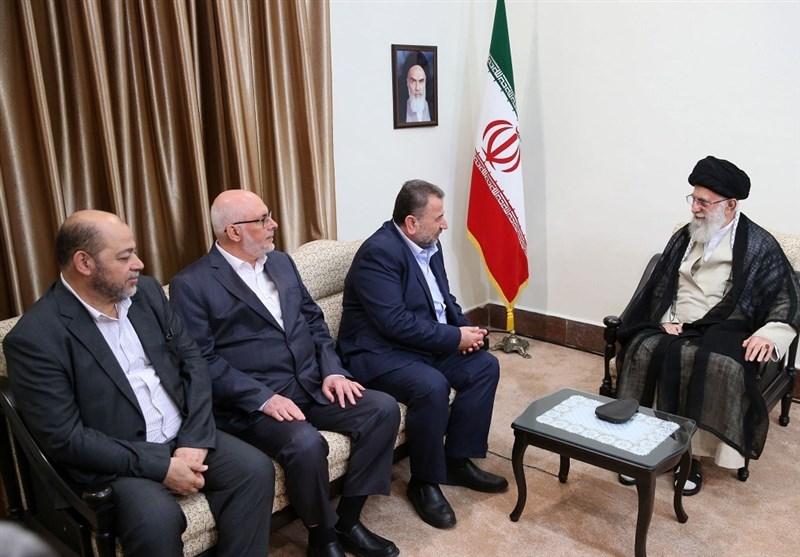 Iran Serious on Palestinian Issue: Ayatollah Khamenei