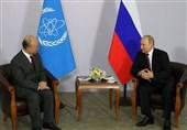 واکنش پوتین به خبر درگذشت آمانو