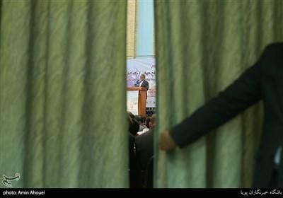 سخنرانی عبدالرضا رحمانی فضلی وزیرکشور در همایش تحریم در تقابل با صلح جهانی از نگاه ادیان