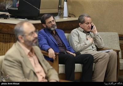 ناصر فیض در بزرگداشت استاد محمود دست پیش(شاعر پیشکسوت)