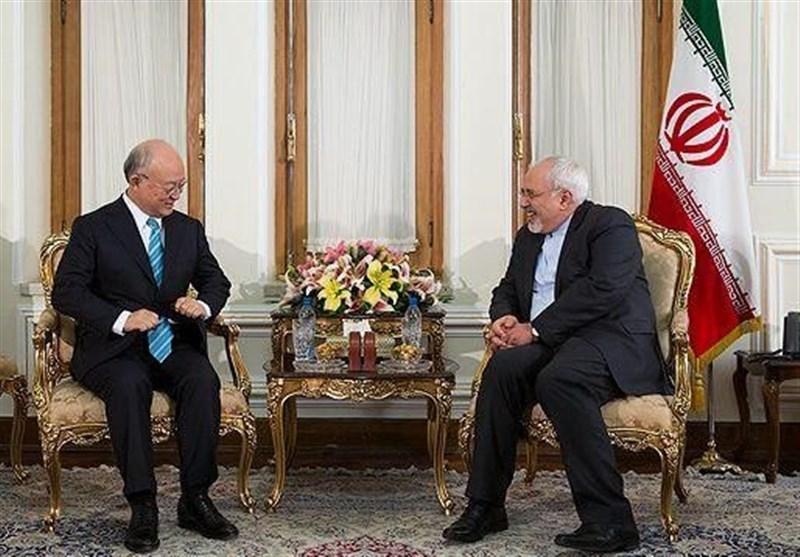 پیام ظریف به مناسبت درگذشت مدیرکل آژانس بینالمللی انرژی اتمی