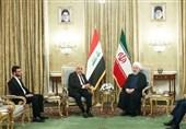 روحانی با نخست وزیر عراق دیدار کرد