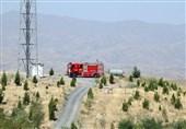 علت استقرار خودروهای آتشنشانی در ارتفاعات جنوبی مشهد چیست؟