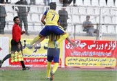 لیگ دسته اول فوتبال| پیروزی فجر سپاسی در خوزستان و تساوی دربی کرمان