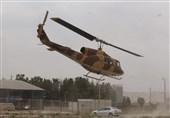 امدادرسانی بالگردهای پایگاه شهید دوران نهاجا به آتش سوزی جنگلهای استان فارس+ عکس