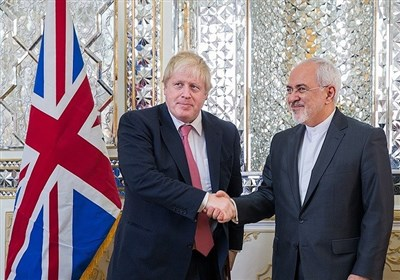 Zarif Congratulates Johnson, Warns UK against Engaging in B-Team's Ploys
