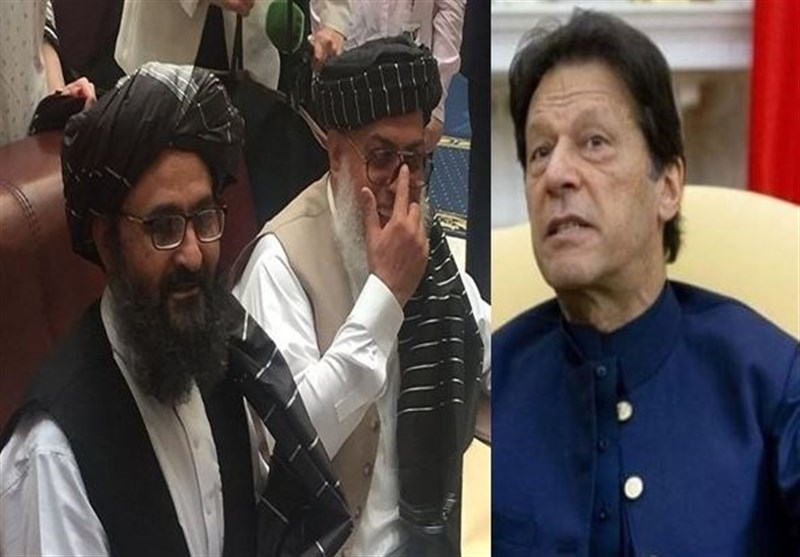 عمران خان: برای راضی کردن طالبان به مذاکره با دولت افغانستان تلاش میکنم