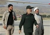بازدید سرلشکر سلامی ازیگانهای سپاه در آذربایجان غربی