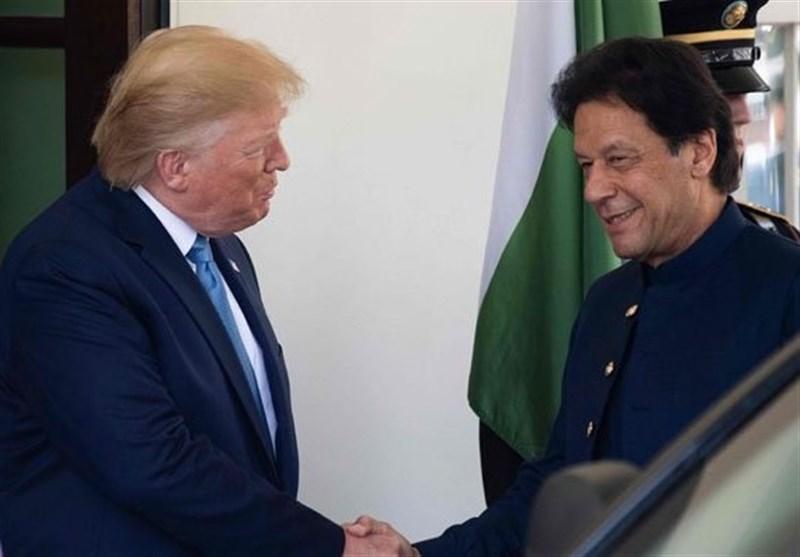 گفتگوی تلفنی عمران خان و ترامپ درباره بحران کشمیر