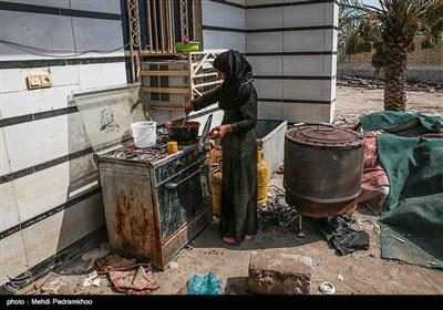 روستای «حمدان سلجه» در شهرستان حمیدیه اهواز تنها روستایی است که تمامی منازل آن در سیل فروردین ۹۸ تخریب شد
