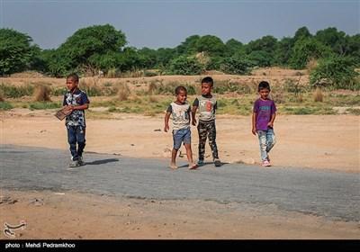 آخرین وضعیت روستای سیل زده روستای حمدان سلجه