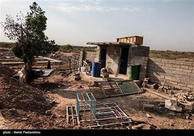 """روستای """"حمدان سلجه"""" یکی از روستاهای مسیر خسرج در حمیدیه"""