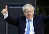 بی ادبی نخست وزیر انگلیس مقابل ماکرون+عکس