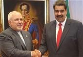 جواد ظریف کی وینزویلا کے صدر سے ملاقات