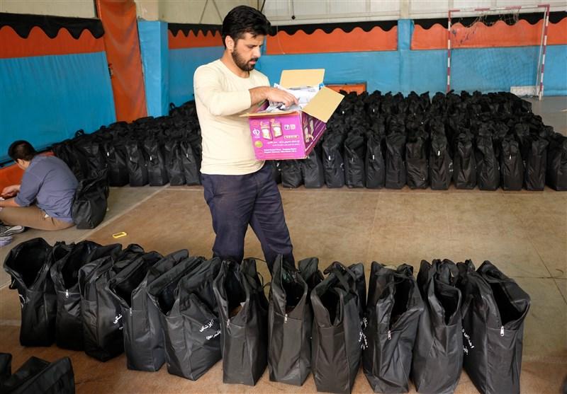ارسال هزار بسته حمایتی به مناطق سیلزده توسط کارکنان دانشگاه بقیةالله