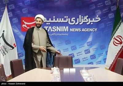 حضورحجت الاسلام مصطفی رستمی رئیس نهاد نمایندگی مقام معظم رهبری در دانشگاهها در خبرگزاری تسنیم