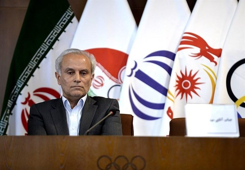 سجادی: مراسم اهتزاز پرچم کشورها در المپیک برگزار نمیشود