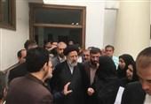 بازدید رئیس قوه قضاییه از دادسرای عمومی و انقلاب مشهد