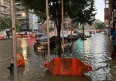 فیلم/ آمریکا، تهی از درون؛ زیرساختهای نیویورک زیر باران فلج شد