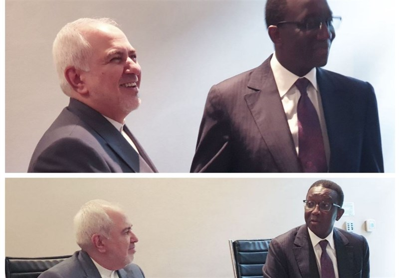 Iranian FM, Senegalese Counterpart Discuss Closer Ties