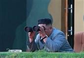 شادی رهبر کره شمالی حین آزمایش موشکی+فیلم و عکس