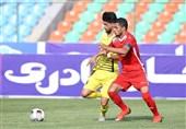شکست یک نیمهای پرسپولیس مقابل فولاد خوزستان در دیداری دوستانه