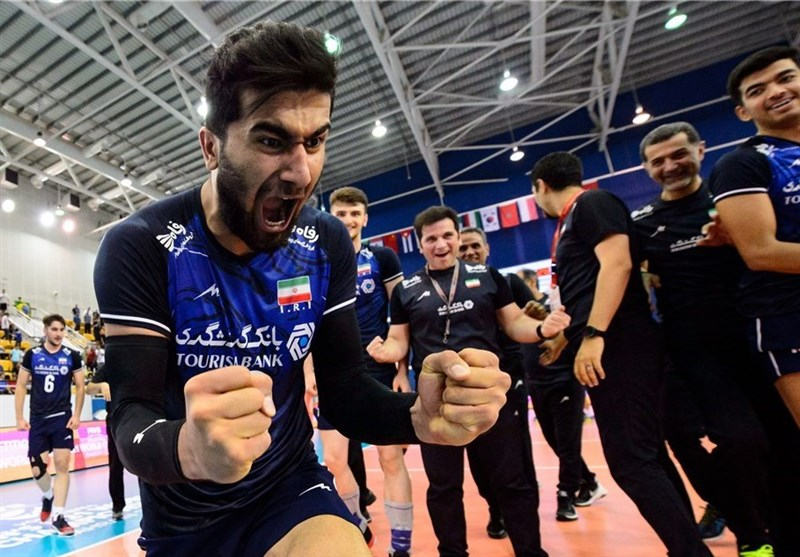 Iran U-21 Volleyball Team Makes History in World Championship