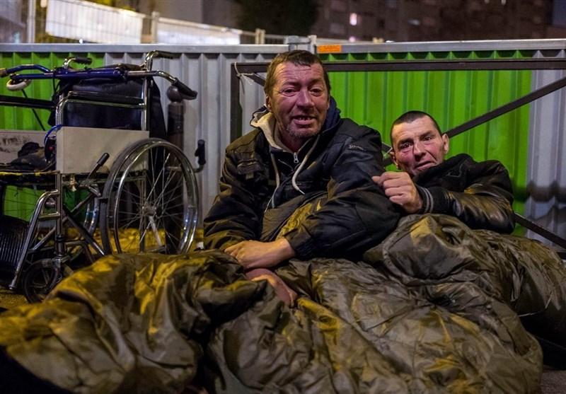 مرگ 566 فرانسوی در یک سال بهخاطر بیسرپناهی!/ 12 هزار نفر شبها در خیابان میخوابند