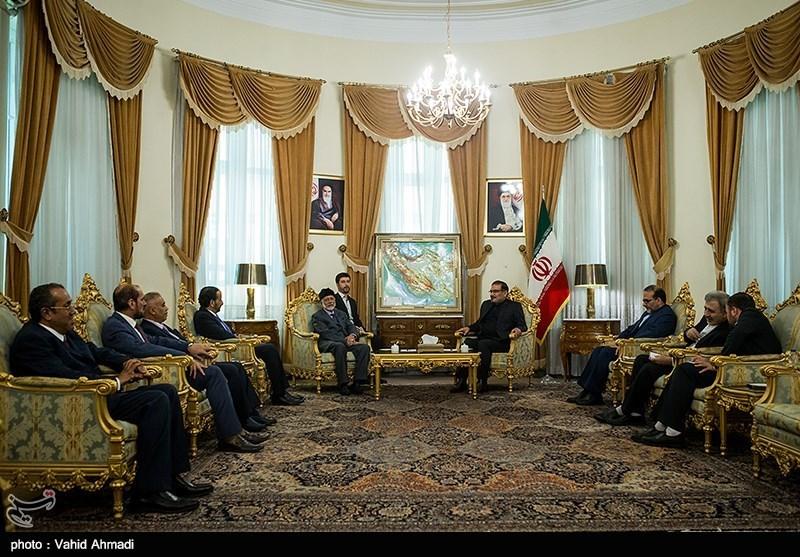 دیدار وزیر امور خارجه عمان با علی شمخانی
