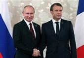 گفتگوی تلفنی پوتین و ماکرون درباره موضوعات دوجانبه و بینالمللی