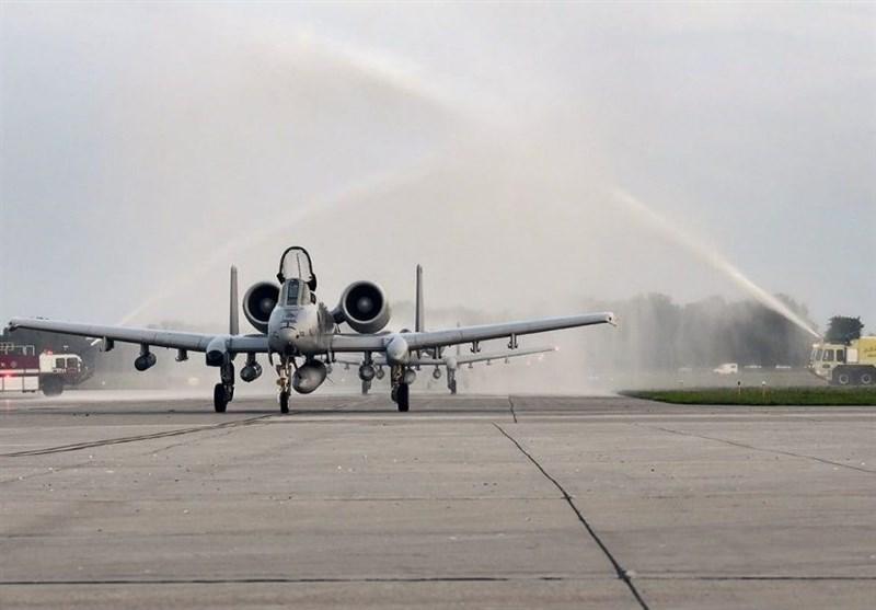 بازگشت 200 نفر از تیم پروازی جنگندههای A-10 از افغانستان