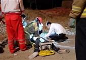 """مرگ راننده جوان در اتاقک متلاشی شده """"هیوندا"""" + تصاویر"""