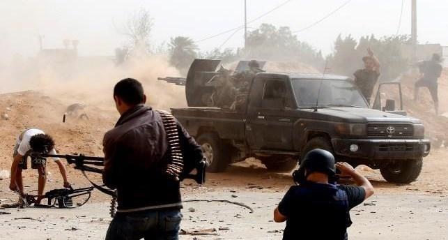 لیبی|درگیری در جنوب طرابلس/ تجمع نمایندگان پارلمان لیبی در قاهره