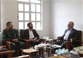 دیدار رئیس دانشگاه آزاد اسلامی با سردار سلیمانی