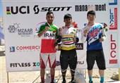 دوچرخهسواری کوهستان قهرمانی آسیا| زنجانیان اولین مدالآور تاریخ ایران در دانهیل شد/ پایان کار ایران با 2 مدال نقره و یک برنز