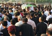 """تشییع پیکر شهید بحرینی در میان فریاد """"حمد سرنگون باد"""" + فیلم"""