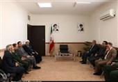 امام جمعه کرمان در دیدار مدیرعامل تسنیم: جنگ رسانهای برای مردم خطرناکتر از جنگ نظامی است+ تصاویر