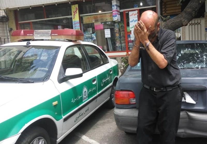 سرقت سریالی 50 دستگاه پراید فاقد ایموبلایزر در تهران توسط سارق شیشهای
