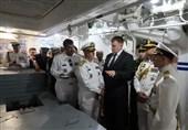 فرمانده نیروی دریایی ارتش از ناوگان نیروی دریایی روسیه بازدید کرد