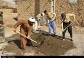 اصفهان| زندگی آسمانی در اردوهای جهادی؛ بازسازی منازل سیلزدگان توسط گروه جهادیشهید بهشتی